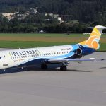 Trade Air bazirao zrakoplov F100 u Innsbruck za charter letove